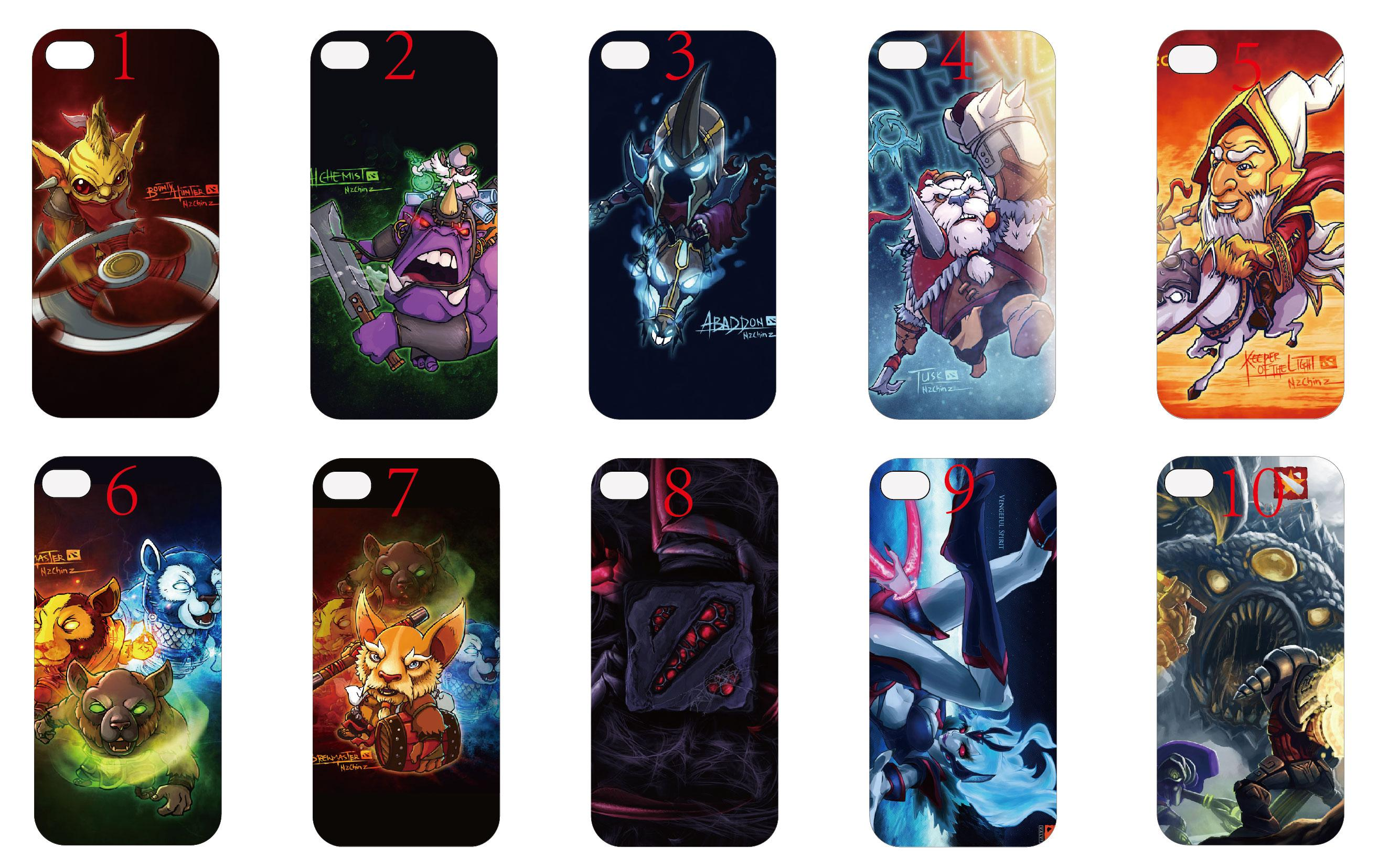 cool 2014 time limited phone cases dota2 acting cute hero case