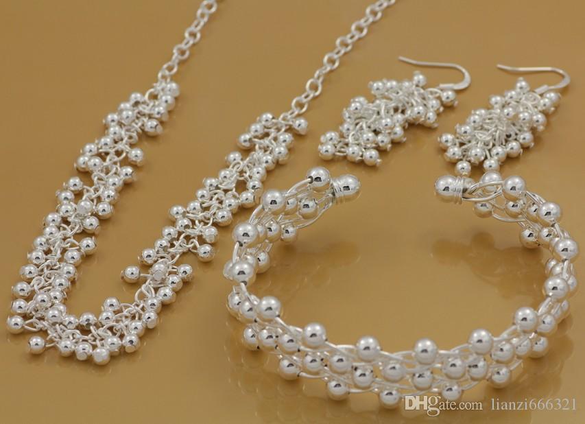 Darmowa wysyłka z numerem śledzenia Najlepsze Najlepsze Najlepsze Najlepsze Gorące Sprzedam Delikatna Biżuteria Prezent 925 Posrebrzana Mix Biżuteria Zestaw 12 Zestaw 1049