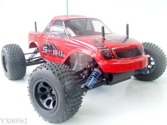 Rc Truck Nitro Gas Engine Racing Car Speed Gearbox