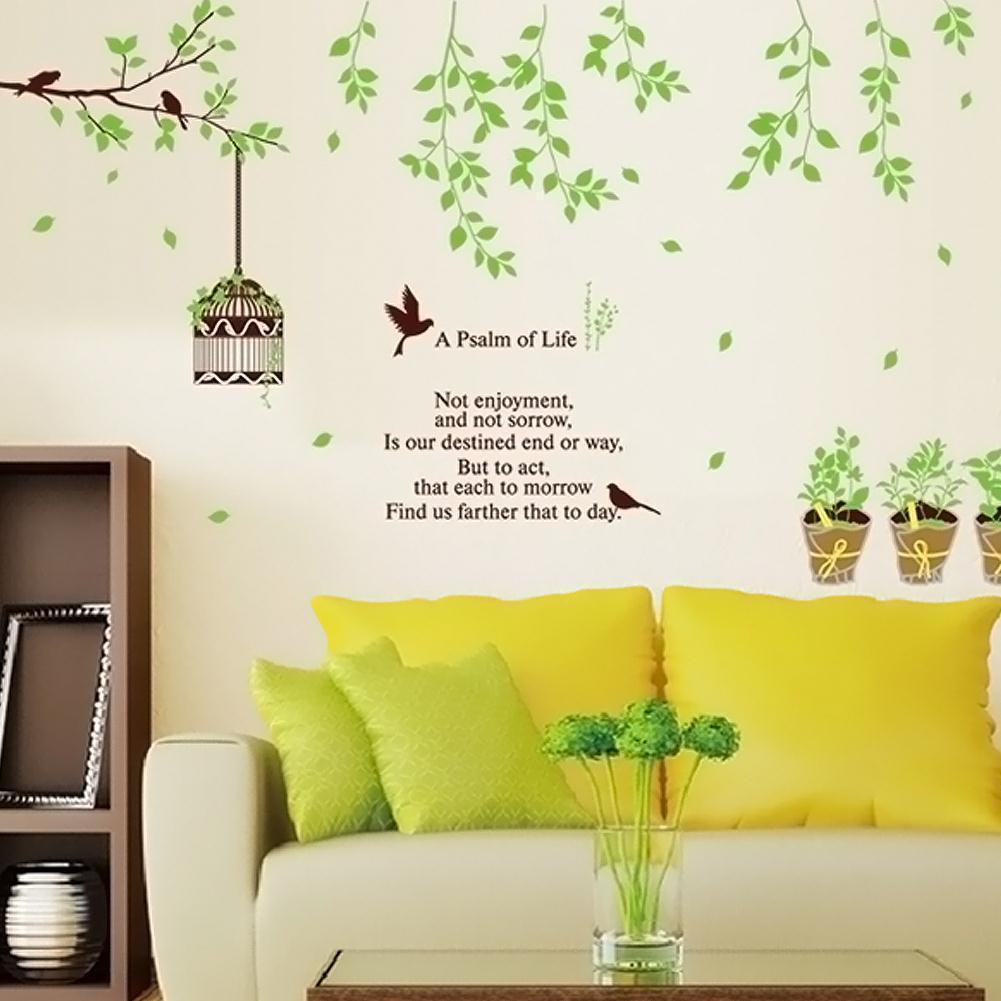 Free Shippingpots Bird Branch Cozy Living Room Bedroom Sofa