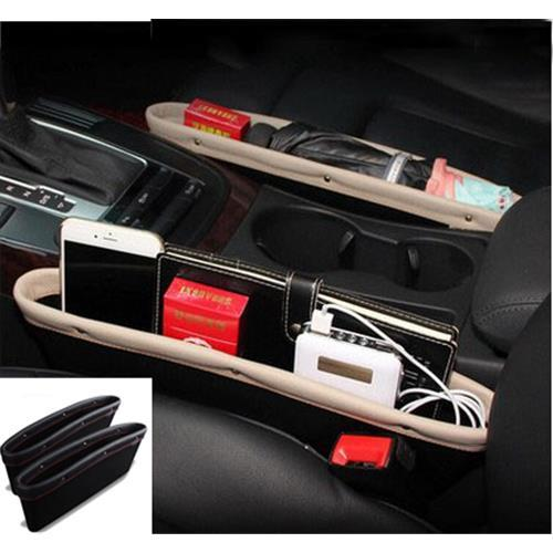 New Leather Car Storage Box Seat Gap Organizer Accessories Auto Trunk Containers Automobile From Henyun Technology