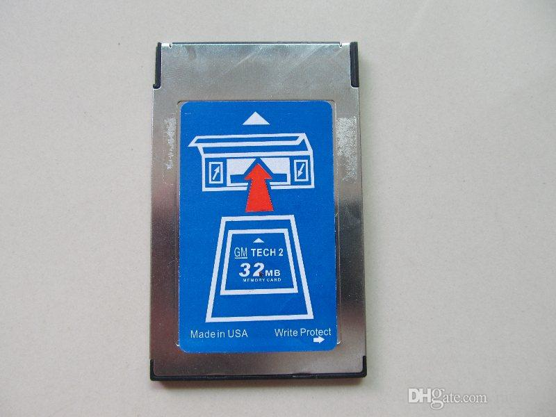 newest tech 2 memory card 32mb for opel GM,Holden,Isuzu,Saab,Suzuki 6 brands to chhose