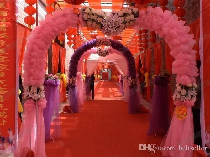 2015 New Romantic Wedding Centerpieces Favors 1Meter wide Red Carpet Aisle Runner For Wedding Party Decoration Supplies Shooting Prop