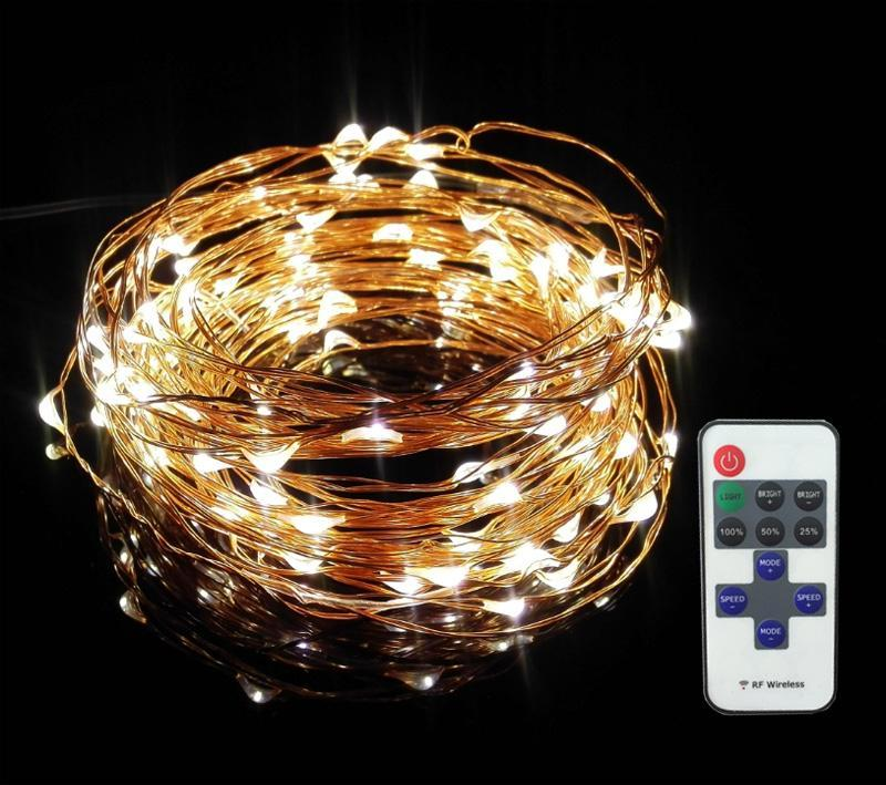 Cheap 10m 100 33ft Rf Remote Control Dimmable Led Copper Wire ...