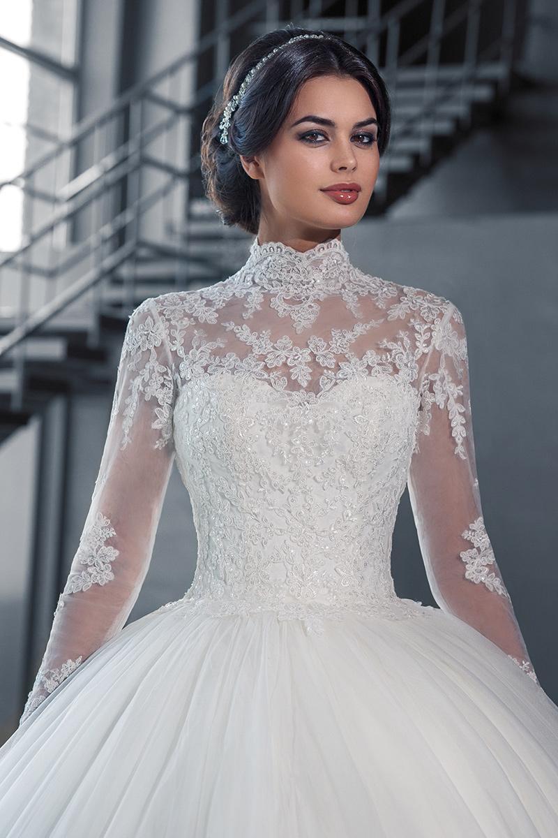 Muslim 2016 lace wedding dresses plus size ball gown for Cheap wedding dresses for plus size women