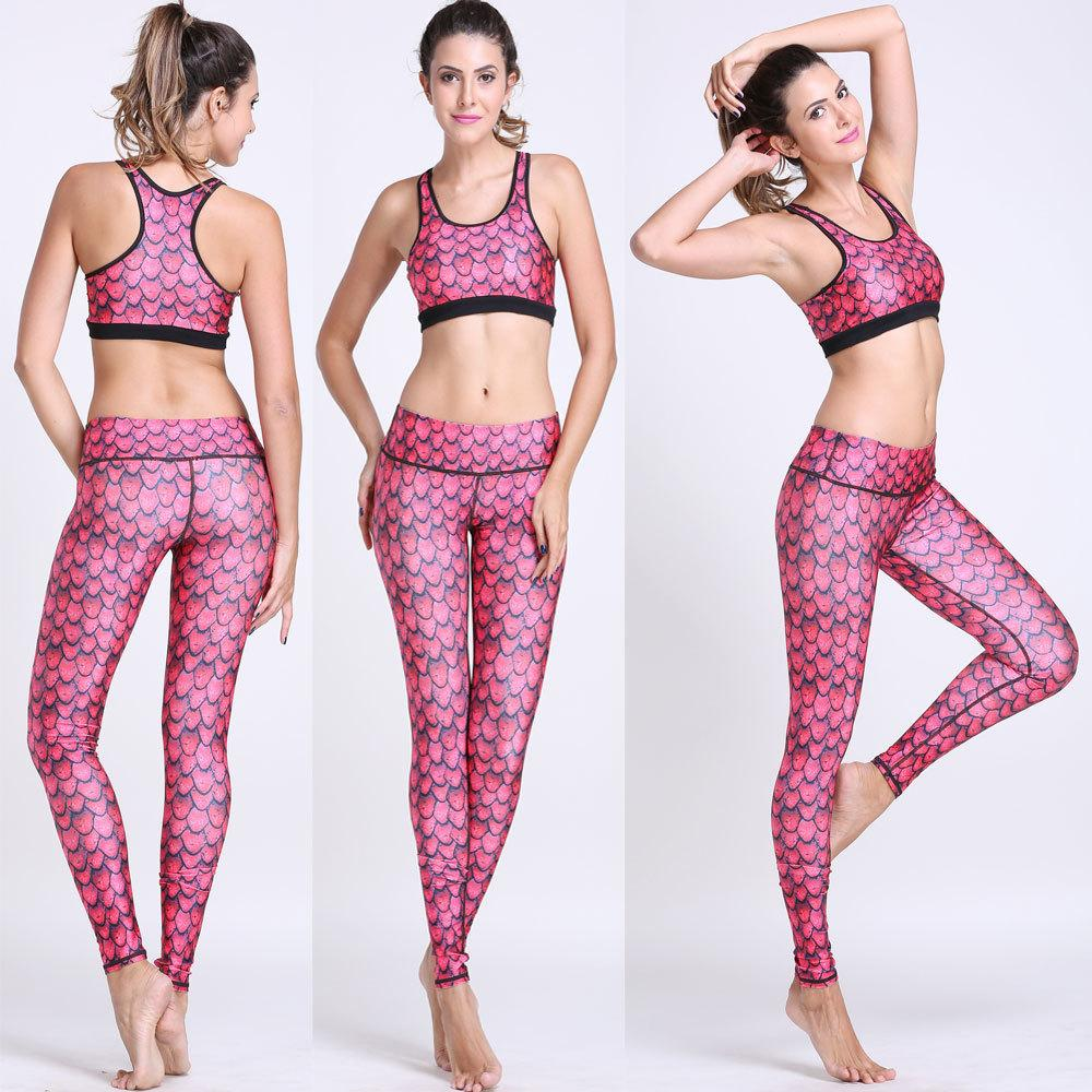 Women s yoga sets sport suit workout clothes female fitness sports - Yoga Suit For Fitness Woman Running Clothes Jpg
