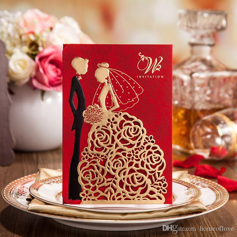 2015 Creative Wedding Invitationscustom Invitations Romantic