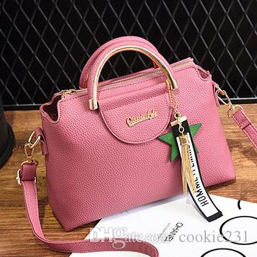 ea540e45f3 Women s Handbag Tote Purse Shoulder Bag Pu Leather Girl Tote Purse ...