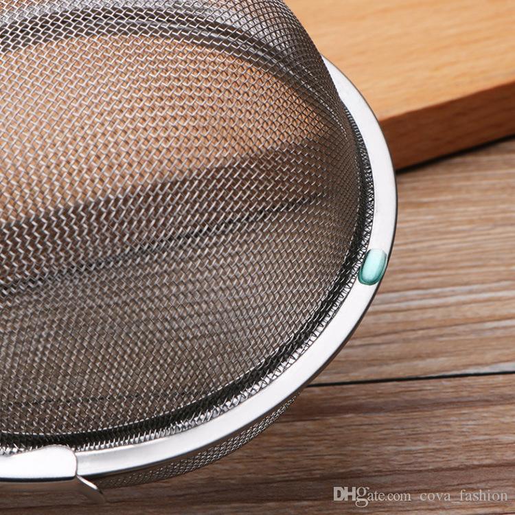 Heißer Edelstahl Tee Infuser Teekanne Infuser Kugel Mesh Teesieb Ball 5 cm / 7 cm / 9 cm
