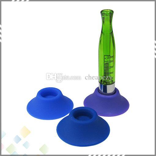 最も人気のあるエゴシリコーン吸盤/エゴサクションカップ/ Eタバコゴム製サクション電子タバコゴムキャップペンホルダーDHLフリー