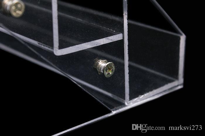 Contenitore cosmetico di cristallo del rossetto del profumo dell'organizzatore di trucco dell'organizzatore di trucco dello smalto cosmetico dello smalto del chiodo del 2015