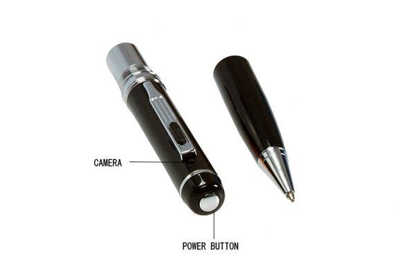 المهنية 1080 وعاء HD مصغرة القلم الكاميرا كشف الحركة القلم مصغرة dv dvr الرقمية صوت فيديو مسجل مصغرة كاميرا الفيديو الفضة / الذهبي
