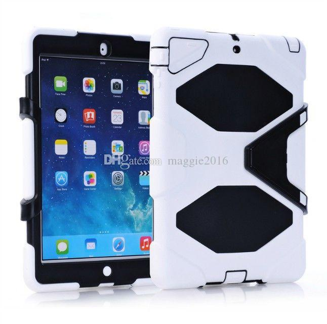 Military Extreme Heavy Duty WATERPROOF SHOCKPROOF DEFENDER CASE WITH STAND Case Cover For iPad 2 3 4 iPad Air iPad 5