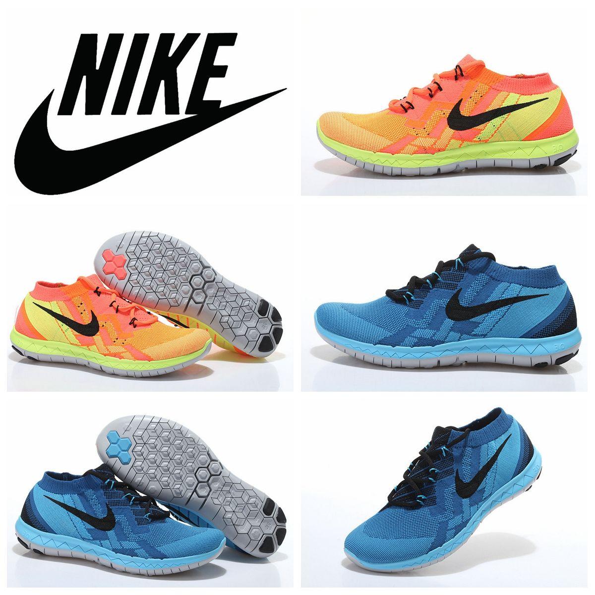 Compre Nike Free De V2 Flyknit Zapatos Corrientes De Free Los Hombres 4f3ded