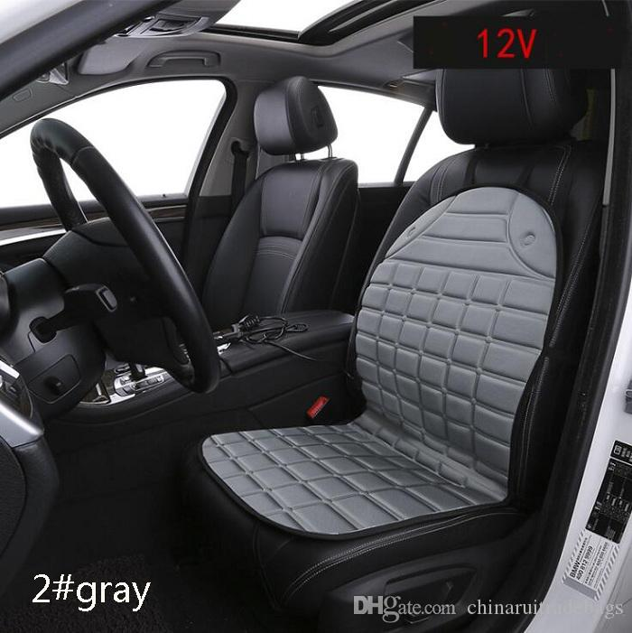 12V Warm Heating Car Seat Covers Universal Fit SUV Sedans Chair Pad Cushion  Warm Safe For Winter Car Travel Bed Seat Car Seat Cover Online With  $23.86/Piece ...