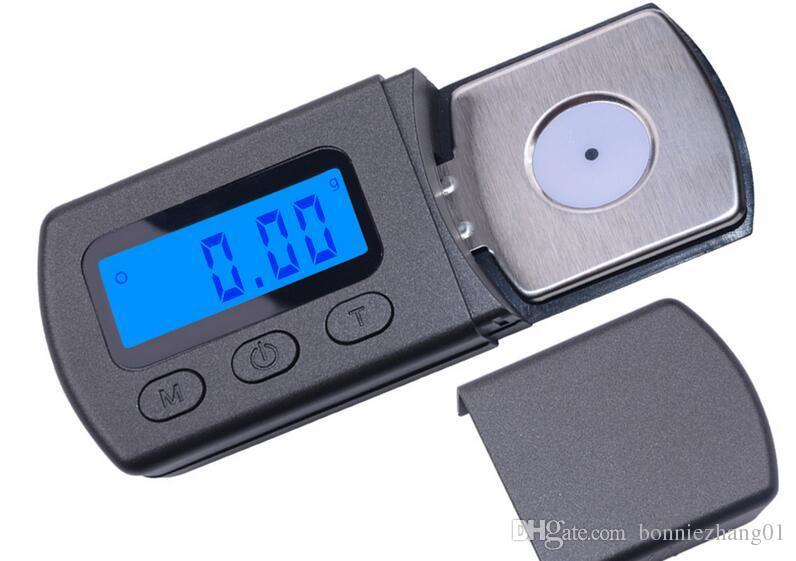 الدقة 0.01g 5G مجوهرات مقياس الجيب الماس الالكترونية الرقمية مساحيق حبوب منع الحمل بره