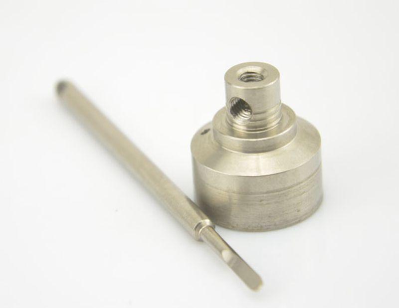 Cheapest 14mm and 18mm Titanium Carb Cap Titanium Nail Domeless Titanium Nail Gr 2 Nail