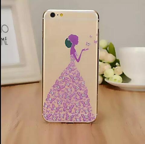 cheap iphone 4 cases for girls glitter wedding dress design princess 18342