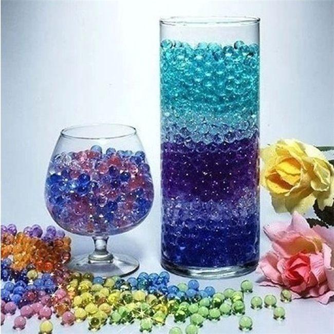 Kristallschlamm-Baby-Meerwasser-Perlen-Kristallboden-Kristallbaby-Soilless-Bearbeitung kann Blumen-Dekoration HOCHZEITS-GEBÄUDE-PARTEI-TABELLE DÉCOR-MITTE