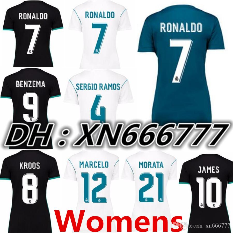 1591b561a ... real madrid 16 17 home jersey marcelo 12 in stock now tnt 17 18 womens  real