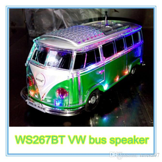 Where Can I Buy A Volkswagen Bus: 2019 2016 Dhl Free Led Crystal VW Bus Bluetooth Speaker