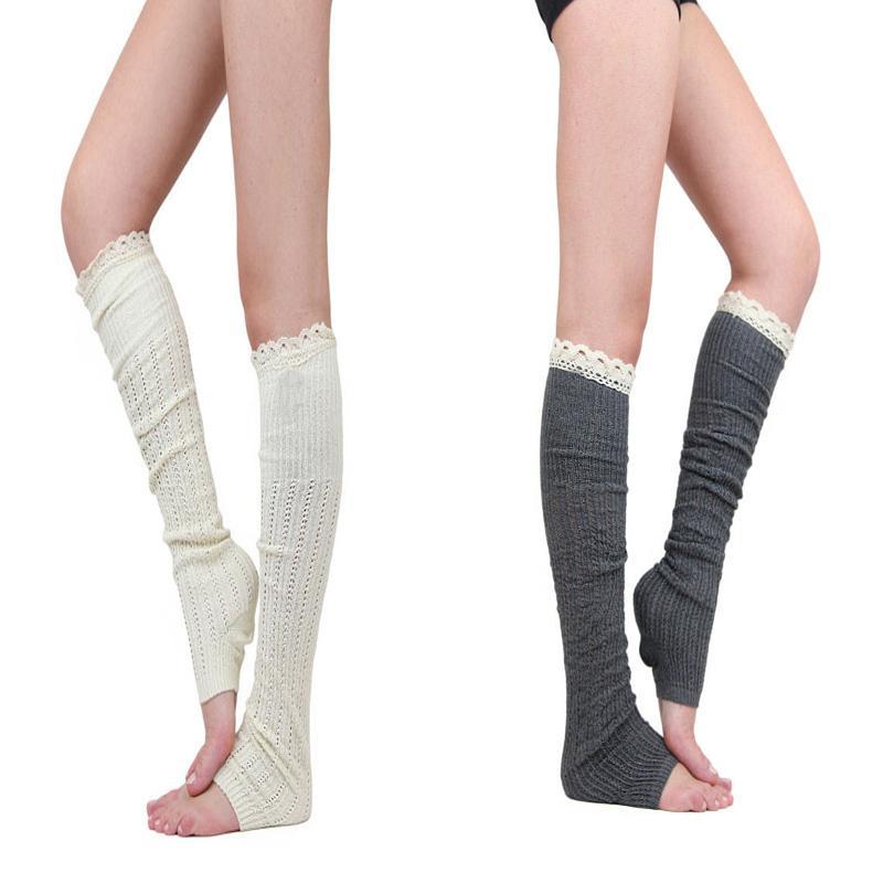 2015 nueva pierna primavera la moda de otoño más cálido calcetines de  encaje medias para mujer calcetines de arranque del muslo Leggings pie ...