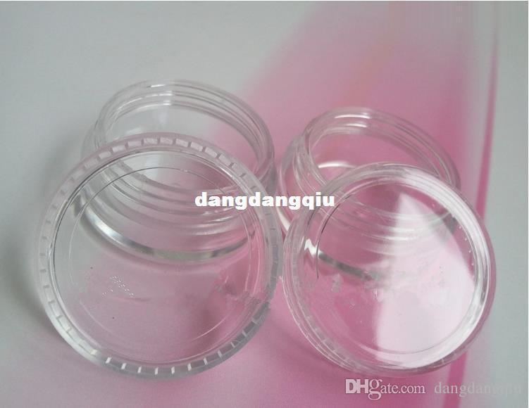 Wholesale-Nail Art Glitter Dust Powder Empty Case Box Clear Pots Bottle Container 3g 3gram/Jar nails & tools