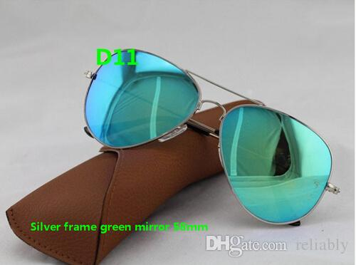 2015 NEW fashion UV Protection Fashion sunglasses Color film Lens men's polarized Mirror sunglasses women's Color film sun glasses