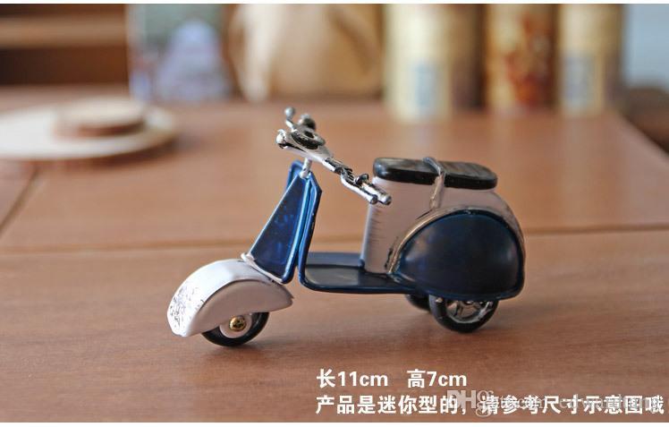 Модель мотоцикла металла, Хандмаде классический стиль, меньшее сусло искусства, игрушки мотора педали, такие же с праздником Рима, украшением и подарком