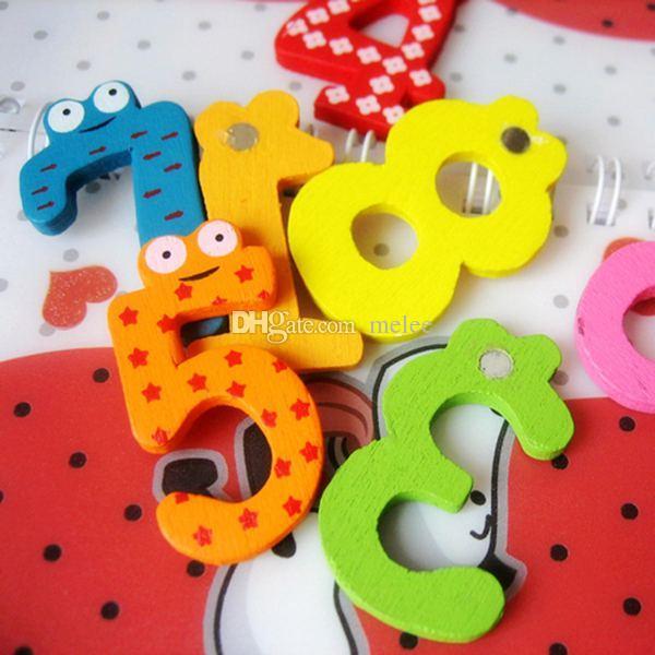 حار بيع مجموعة 15 عدد غير تقليدي مغناطيس الثلاجة الملونة أرقام المغناطيسي التعليم تعلم لطيف كيد الطفل ألعاب تعليمية شحن مجاني
