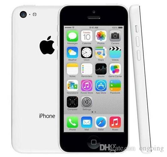 2017 Refurbished iPhone5C Unlocked Cell phones Apple iPhone 5C 8GB 4.0 Inch IPS Capacitive Screen 1136*640pixels Renew DHL