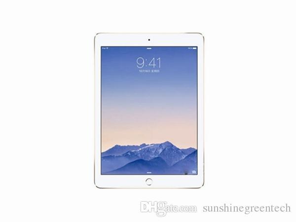 Orijinal Yenilenmiş Apple iPad Air 2 Wifi + Hücresel 16G 64GB 128GB iPad 6 Dokunmatik Kimliğin 9.7