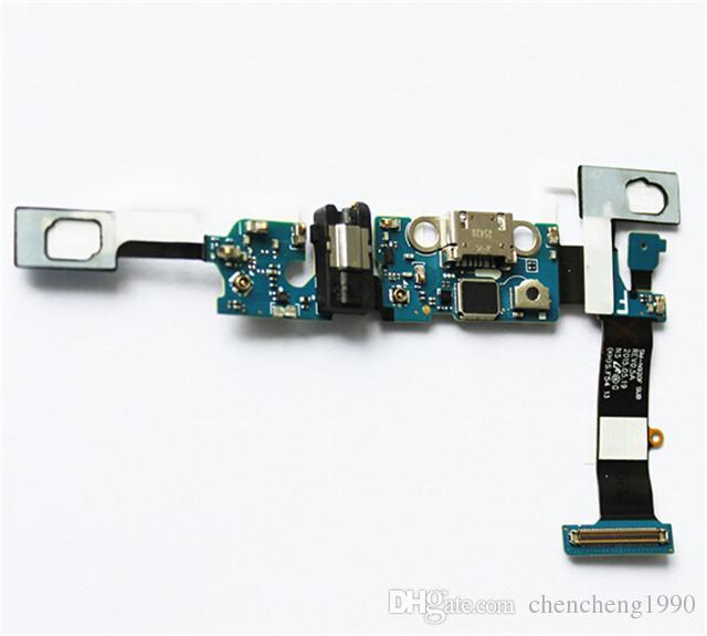 100 % 기존 새 USB 충전기 독 충전 포트 USB + MIC 플렉스 케이블 교체 삼성 갤럭시 참고 5 N920A N920V N920T N920F N920P