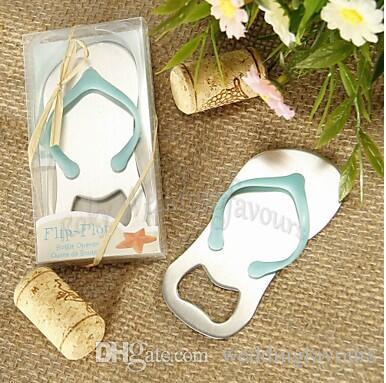 Flip Flop Bottle Opener Wedding Favors Beach Theme Bridal Shower Party Event Favors Party Decors Ideas