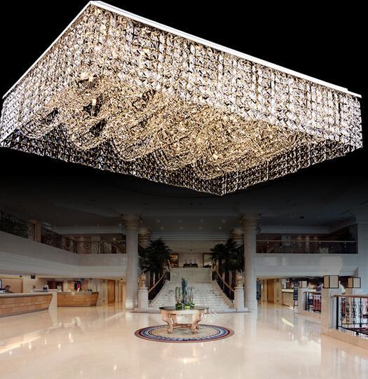 lighting a large room. simple large new flush mount living room light rectangular crystal chandelier ceiling  fixtures large modern hotel lobby pendant shabby chic  for lighting a r
