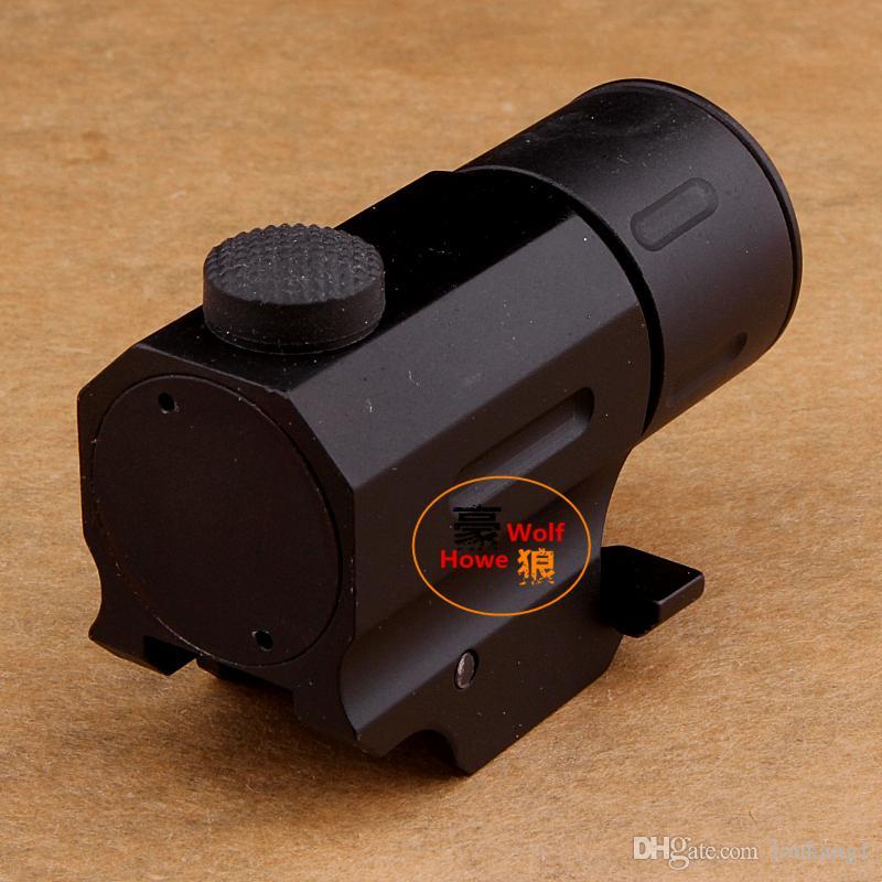 Avcılık Cree Led El Feneri Torch Su Geçirmez Şok Dayanıklı tabanca / gun QD Weaver / Picatinny dağı raylı ücretsiz kargo