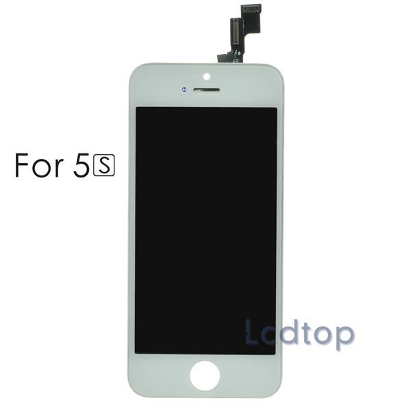 For iPhone 5C Black LCD Screen Digitizer Display Assembly high Quality No Dead Pixels