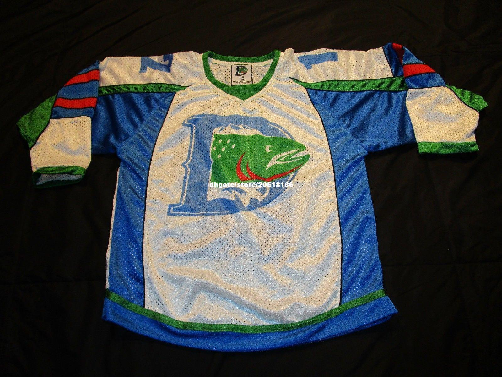 Cheap Custom DENVER CUTTHROATS HOCKEY JERSEY YOUTH XL SGA RARE DEFUNCT!  Stitched Men S Hockey Jersey UK 2019 From Nfljersey1 3ed0054a2