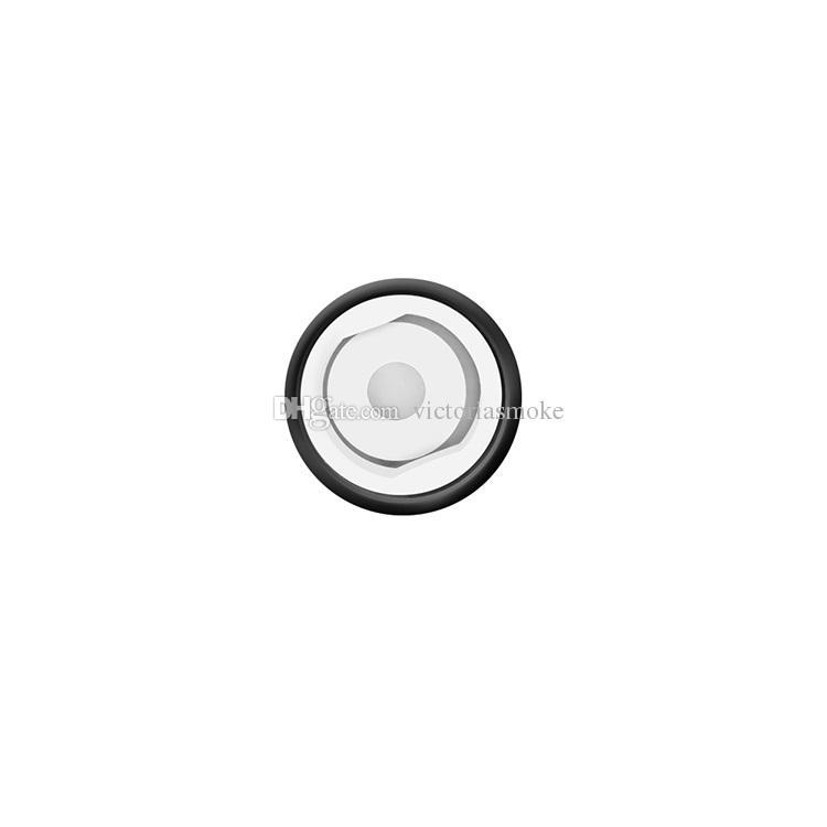 MOQ = Authentique Yocan Cerum Coil Tête En Céramique Donut Quartz Double QDC Bobines De Rechange Pour Cerum Vaporisateur Atomiseur 3 couleurs 100% authentique