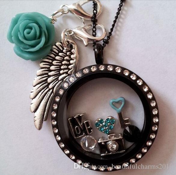 20 шт./лот старинные серебряные бабушки семейные слова мотаться кулон с застежкой Омар, пригодный для плавающей медальон