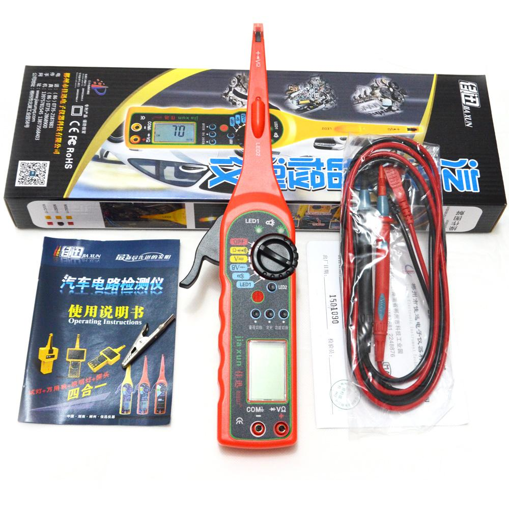 Dc 6v 12v Circuit Tester Car Light Voltage Continuity Long Probe Test Automotive Detector Multi Function Multimeter Lampvoltage Lighting Lamp And Auto