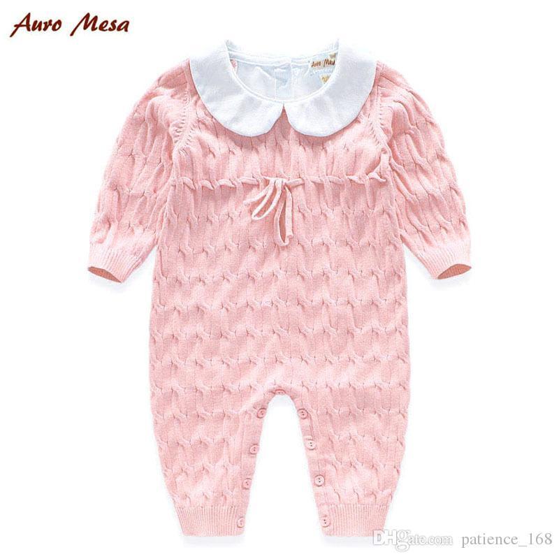 Combi-short en velours nouveau-né vente chaude nouvelles arrivées hiver bébé enfants haute qualité coton à manches longues garder pull chaud épaississement barboteuse 2 couleurs