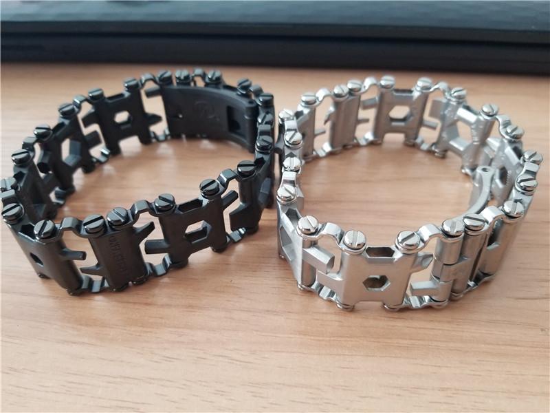 LeatherMan TREAD Followers Creative Fashion Tools Bracelet Bracelet Wearing Equipment Outdoor EDC Tools M450