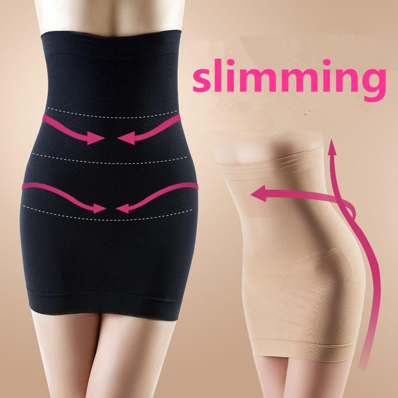 38ca9a8084df9 Women s High Waist Slimming Body Shapers Sexy Butt Lift Beauty Slim  Underwear Black Skin Abdomen Drawing Seamless Shapewear Waist Trainer Body  Shaper ...