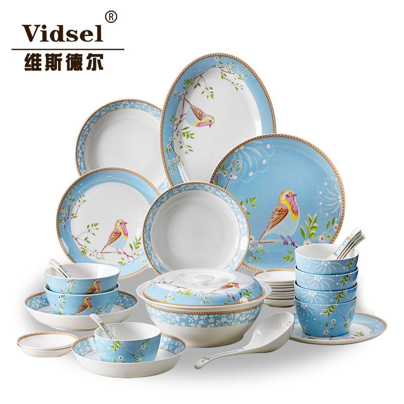 Dinnerware Set Dishes Set High Grade Porcelain Tableware Coverall 56 Skull Korean Ceramic Tableware Bowl Marriage Gift Set Cheap Dinnerware Sets For 8 Cheap ...  sc 1 st  DHgate.com & Dinnerware Set Dishes Set High Grade Porcelain Tableware Coverall 56 ...