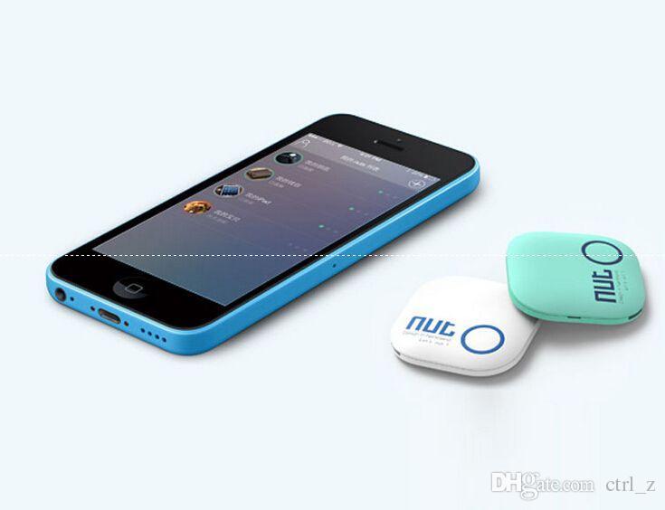 Nut 2 Anti-perdida de alarma de red Wireless Bluetooth Key Finder Smart Bluetooth anti-perdida de etiqueta inteligente tag Tracer para iPad Air iPad mini iPhone 6s