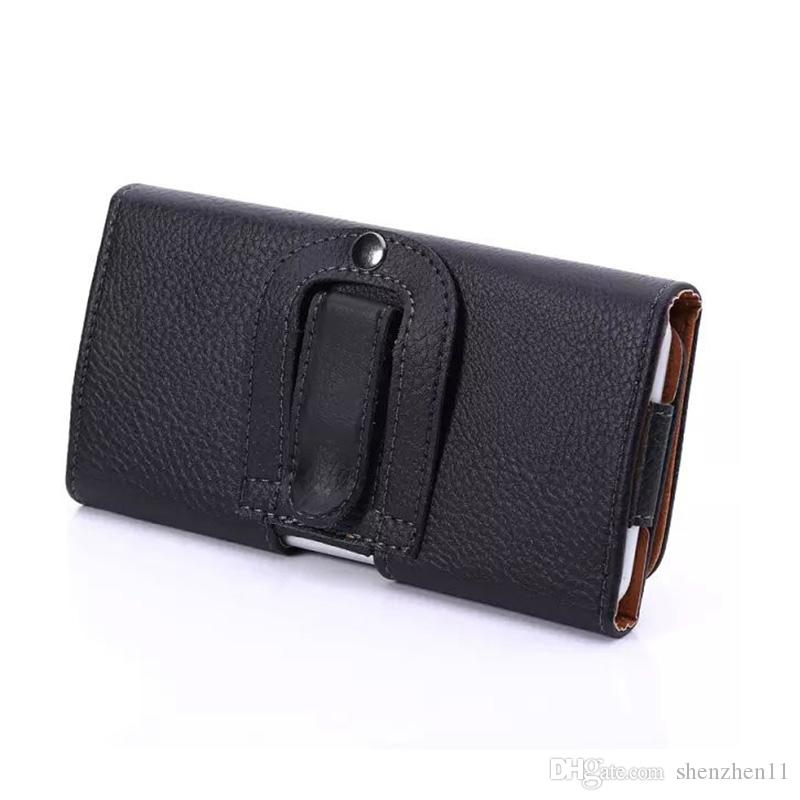 Waist Hang Phone Bag PU Leather Pouch Holster Belt Clip Cover For iphone7 7plus s8 s7 s7edge DHL SCA362