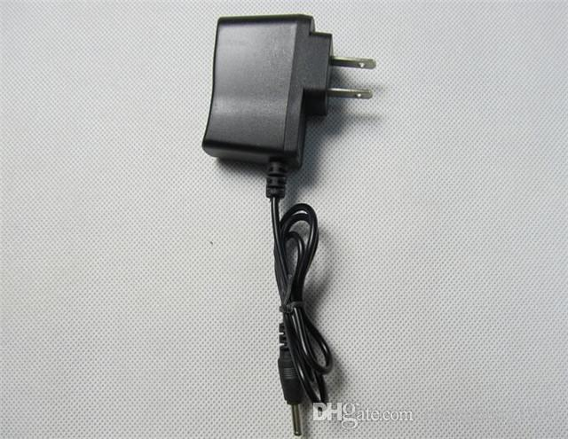 Linterna Adaptador de corriente Linterna Cargador de pared 18650 Cargador de batería Linterna 3.5mm Cargador de enchufe redondo UE EE.UU. Enchufe