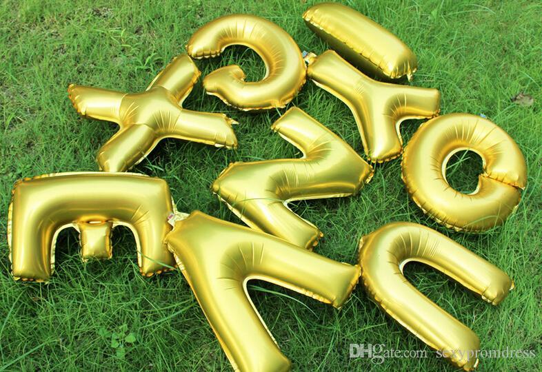 2015 Hochzeit Luftballons LIEBE Heiraten Dekorative Buchstaben Aluminium Luftballons Geburtstag 40 Zoll Buchstaben Folienballons Party Dekoration Luftballons