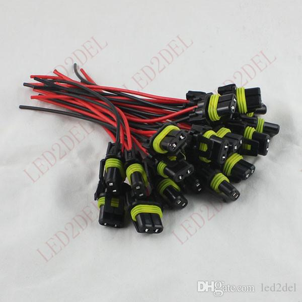 9006 hb4 led halogen smd high power fog light bulb lamps conversion 9006 hb4 led halogen smd high power fog light bulb lamps conversion pigtail connector extension wiring harness plug socket
